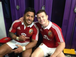 Manu & BOD sharing the love & appreciation of talent - BOD posted this - BLESS!!