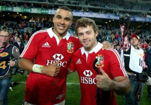 Zebo & Halfpenny after Saturday's match