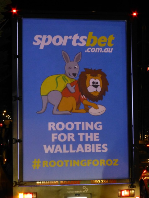 The advert that caused a lot of controversy out in Australia