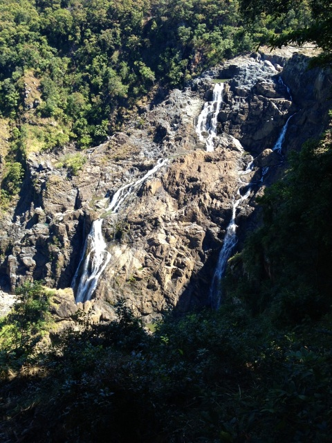 Barron Falls - one of the stop on the way up on the gondola (as it was called)
