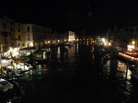 The Grand Canal by night